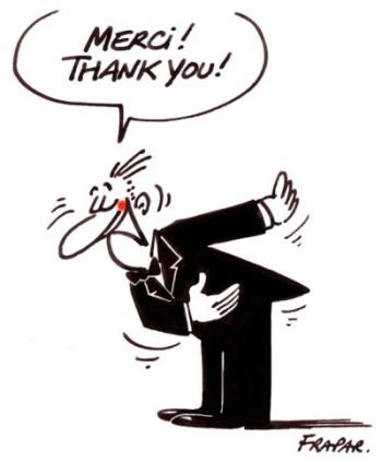 Dankeschön für Eure Unterstützung